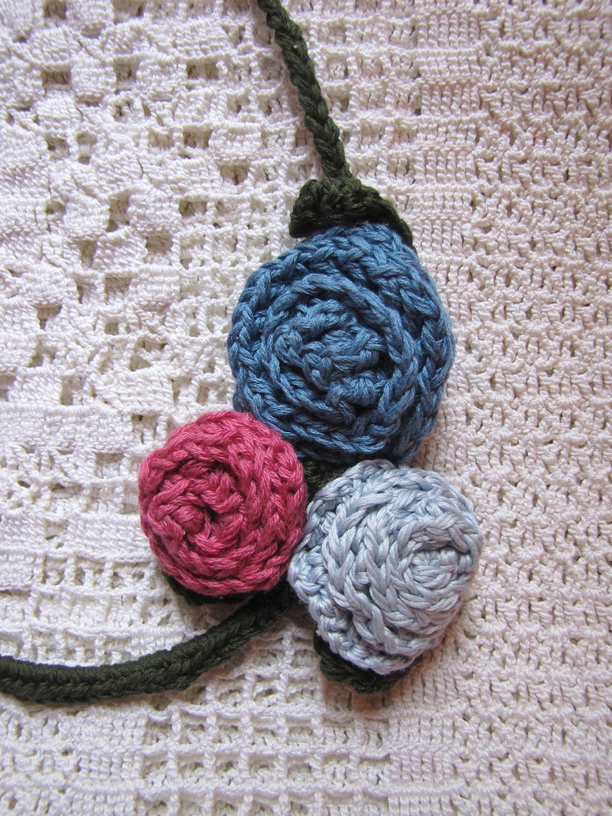 Interweave Crochet : interweave crochet contacted me about unusual crocheted pieces she was ...