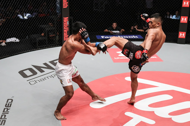 eric kelly ev ting kick one fc clash of heroes