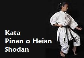 Kata Pinan o Heian Shodan.