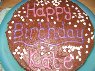 Kate's birthday cake