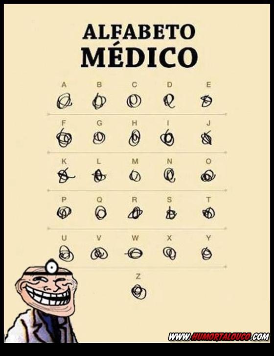 Alfabeto dos Médicos