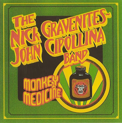 The Gravenites Cipollina Band - Monkey Medecine (1982 Great US Blues Rock - Cd Reissue - Wave)