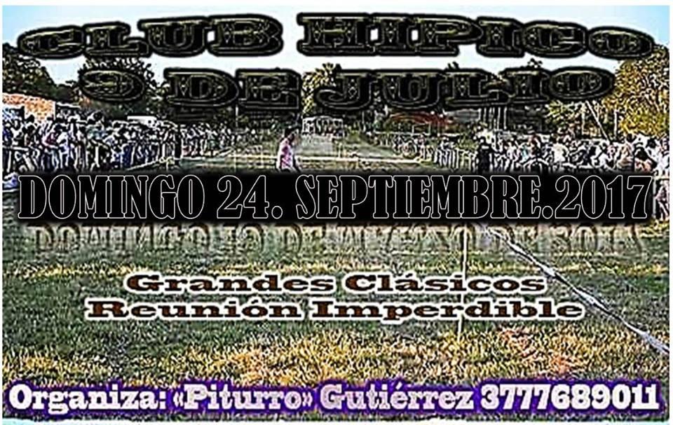 HIPICO 9 DE JULO 24/09/17