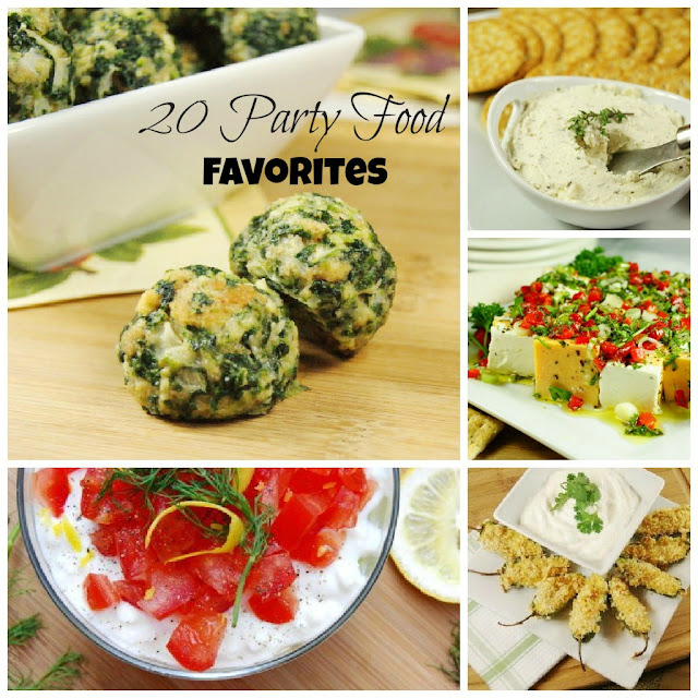 20 Party Food Favorites