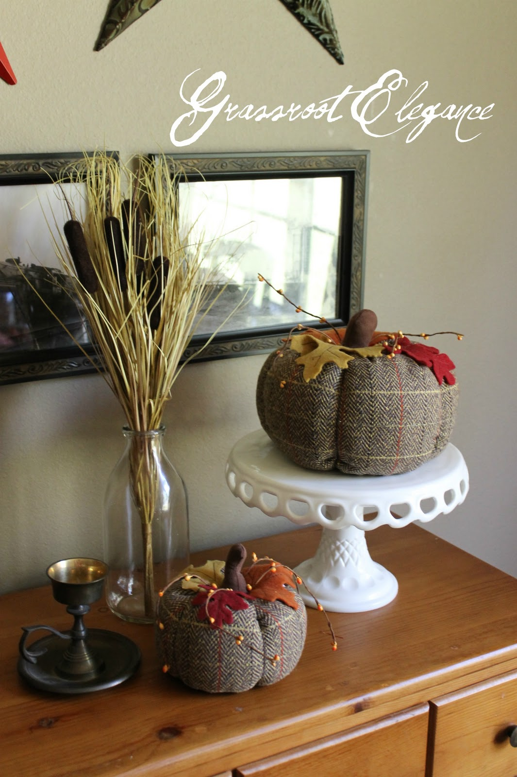 Fall Buffet Table Decorations Photograph Fall Decor For A