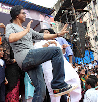Shahrukh Khan at Dahi Handi Celebration organized by Ram Kadam