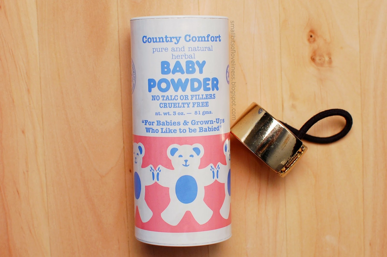 Country Comfort Pure and Natural Herbal Baby Powder