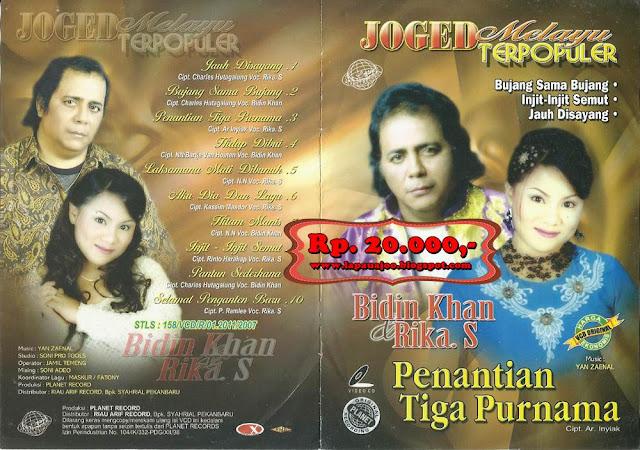 Bidin Khan & Rika Sumalia - Penantian Tiga Purnama (Album Joged Melayu Terpopuler)