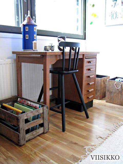 kirjoituspöytä lasten huone