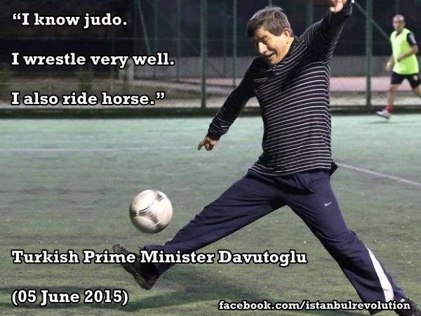 Davutoğlu and the perfect example of Freudian slip!   Turkey Islamic ...
