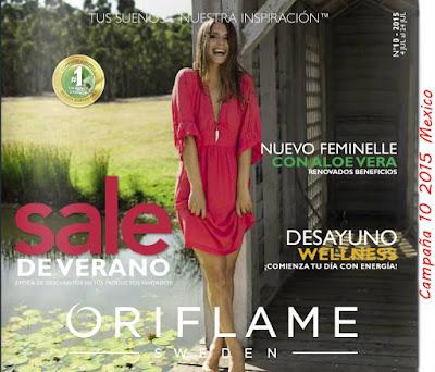 Catalogo Oriflame Campaña 10 2015 MX