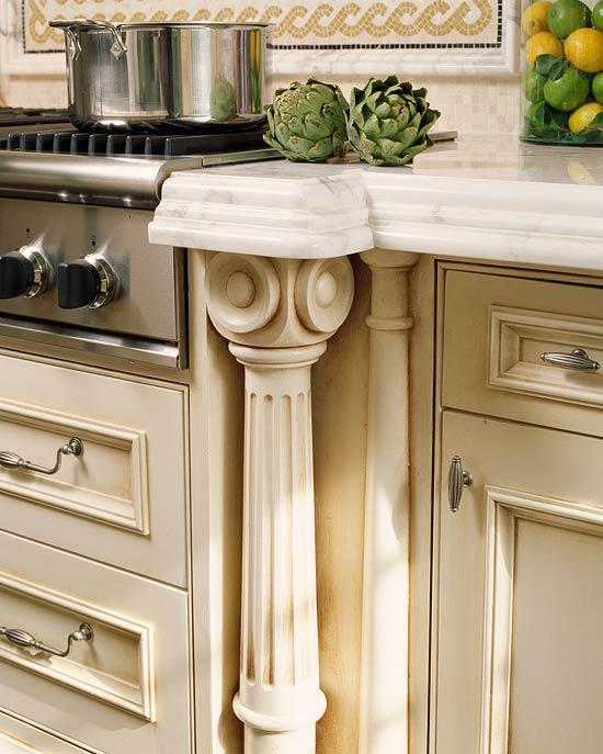 New Home Interior Design: Kitchen Cabinets With Furniture