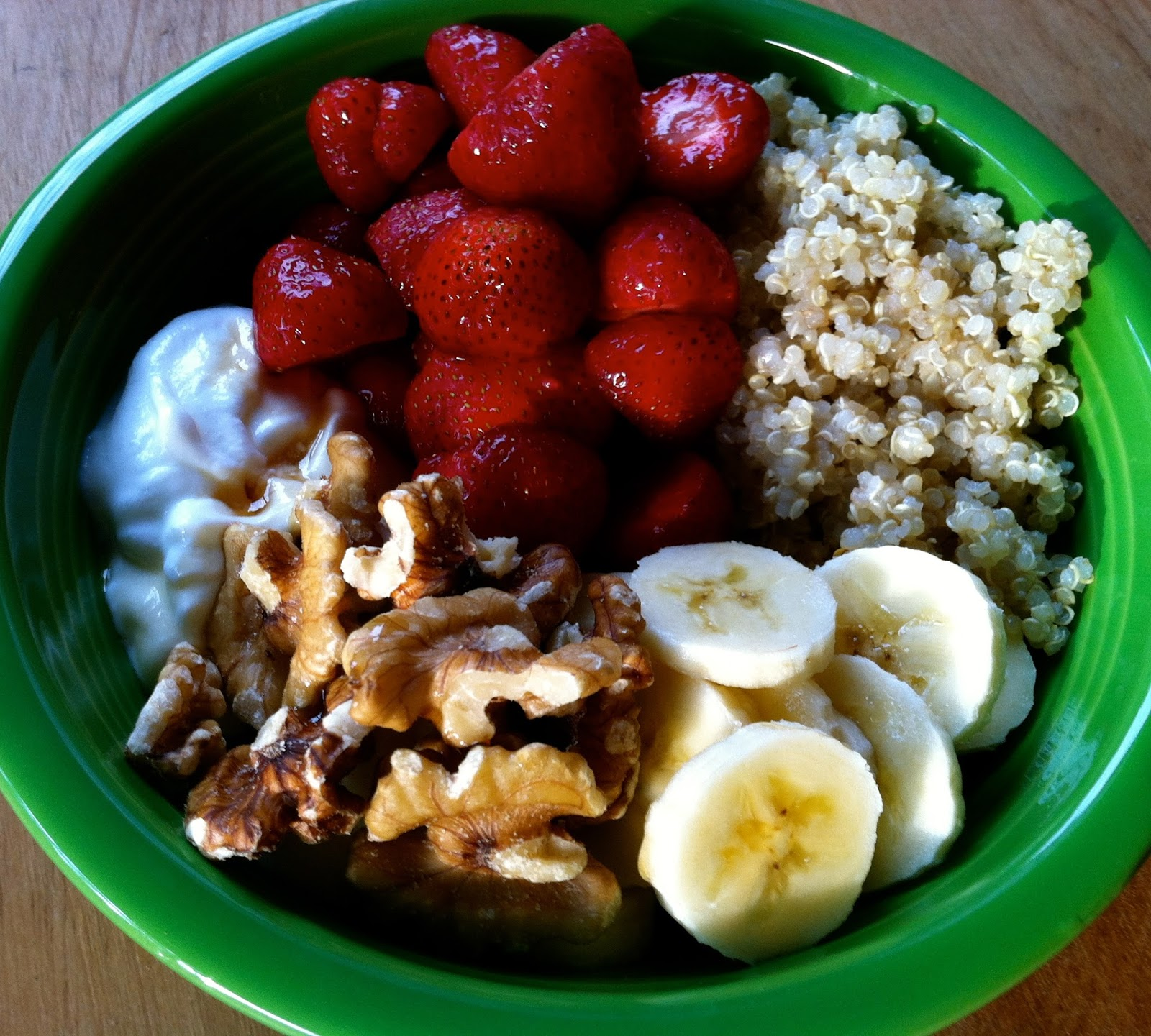 Husband Tested Recipes From Alice's Kitchen: Quinoa Breakfast Bowl