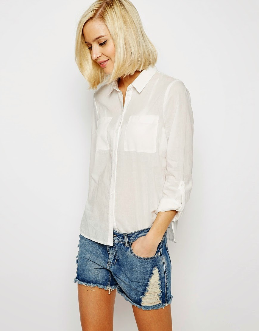 vero moda white shirt, white linen shirt 2015, best white shirt ladies,