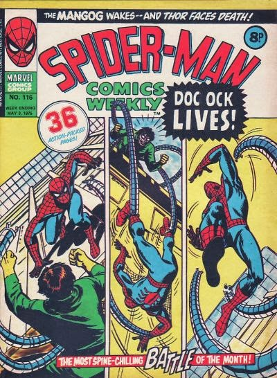 Spider-Man Comics Weekly #116, Dr Octopus