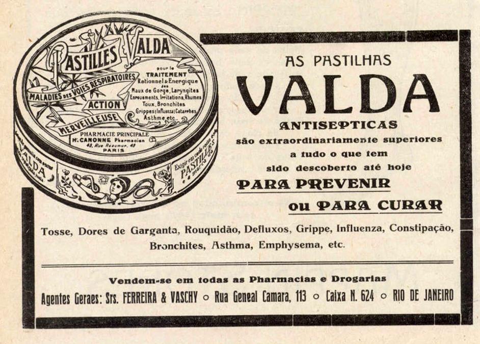 PASTILHAS VALDA
