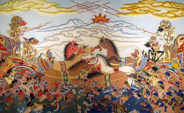 Gugurnya Duryudana (Versi Jawa)