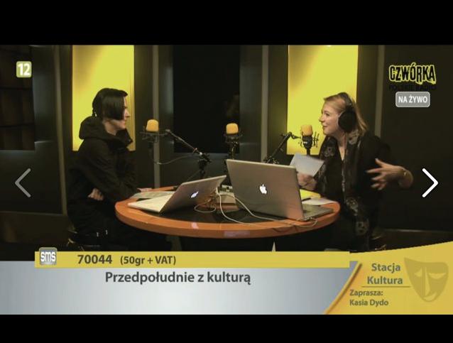 WYWIAD - POLSKIE RADIO CZWÓRKA