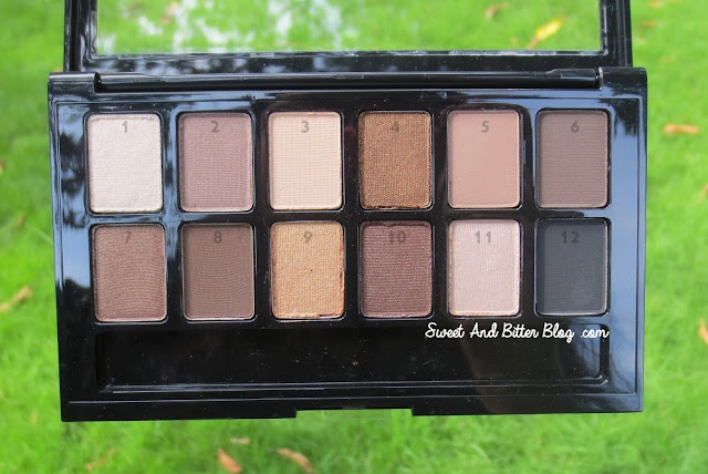 Maybelline The Nudes Eyeshadow Swatches, Review, Price in India