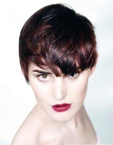 Choppy Layered Short Pixie 2014