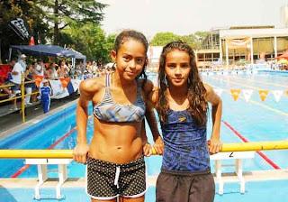 Bien arriba en el Nacional de natación