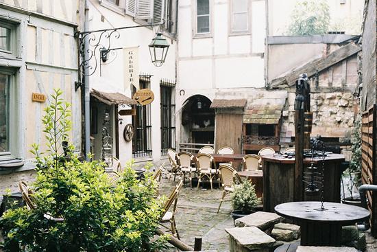 European cafe