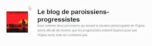 le blog des paroissiens progressistes