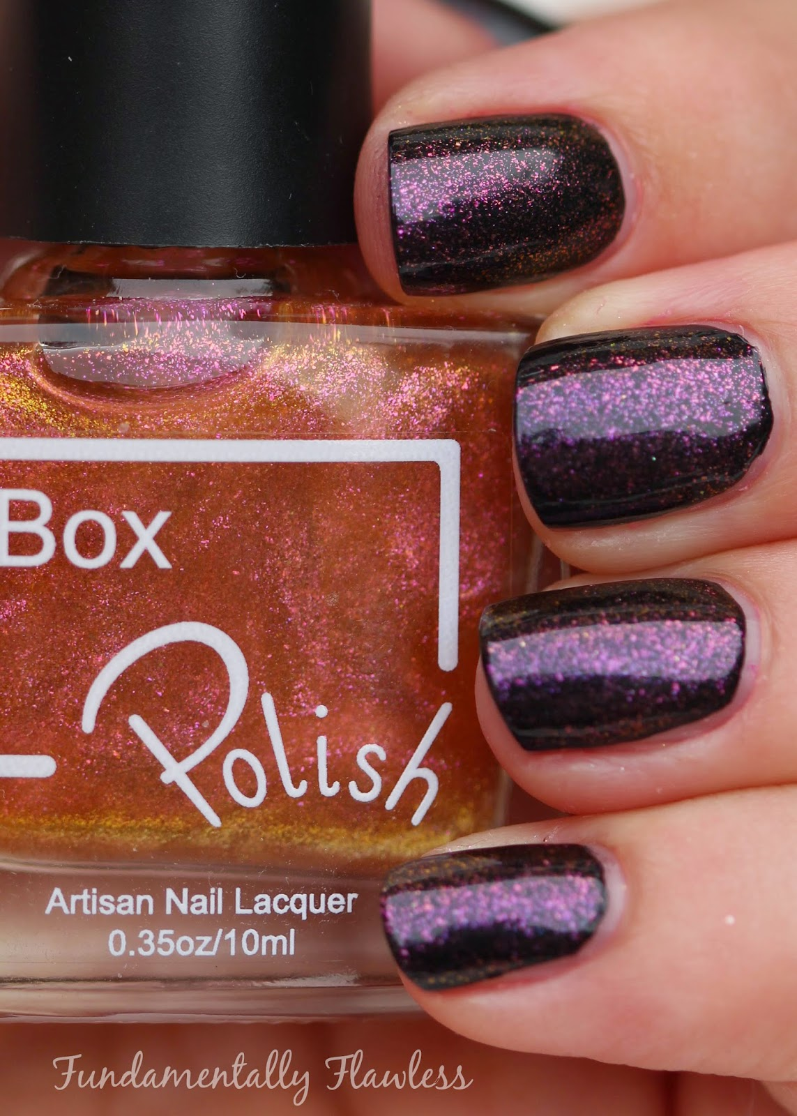 Box Polish Hypnotise swatch