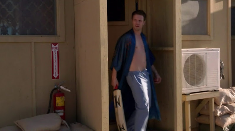 Luke Mably Shirtless in Combat Hospital s1e02