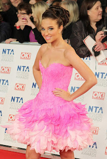 Tulisa Contostavlos Awards Photos, National Television Awards Photos
