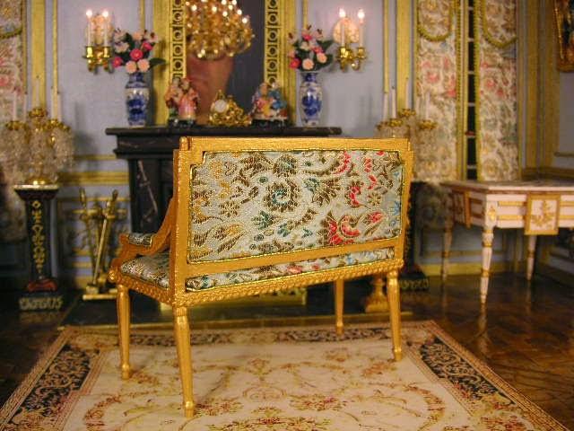 Canapé XVIII style Louis XVI