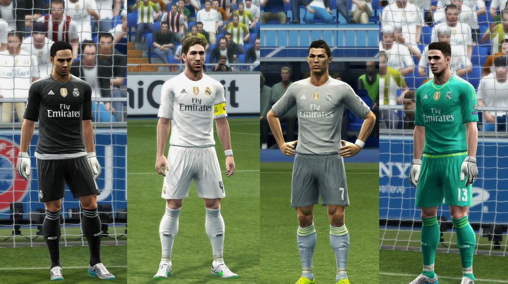 795af1dbc8 PES 2013 Real Madrid GDB 2015-2016 by Vulcanzero ~ PES (Pes ...