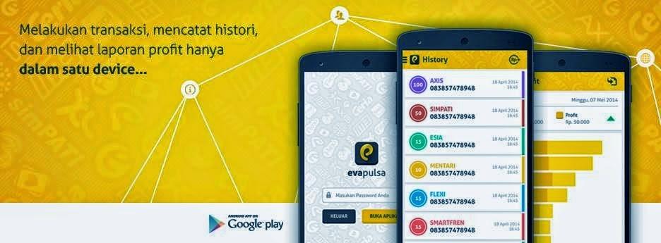 Aplikasi Jualan Pulsa di Android Gratis