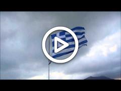 ΒΙΝΤΕΟ: Aντικατάσταση σημαίας 22 Οκτ 2014 με μουσική
