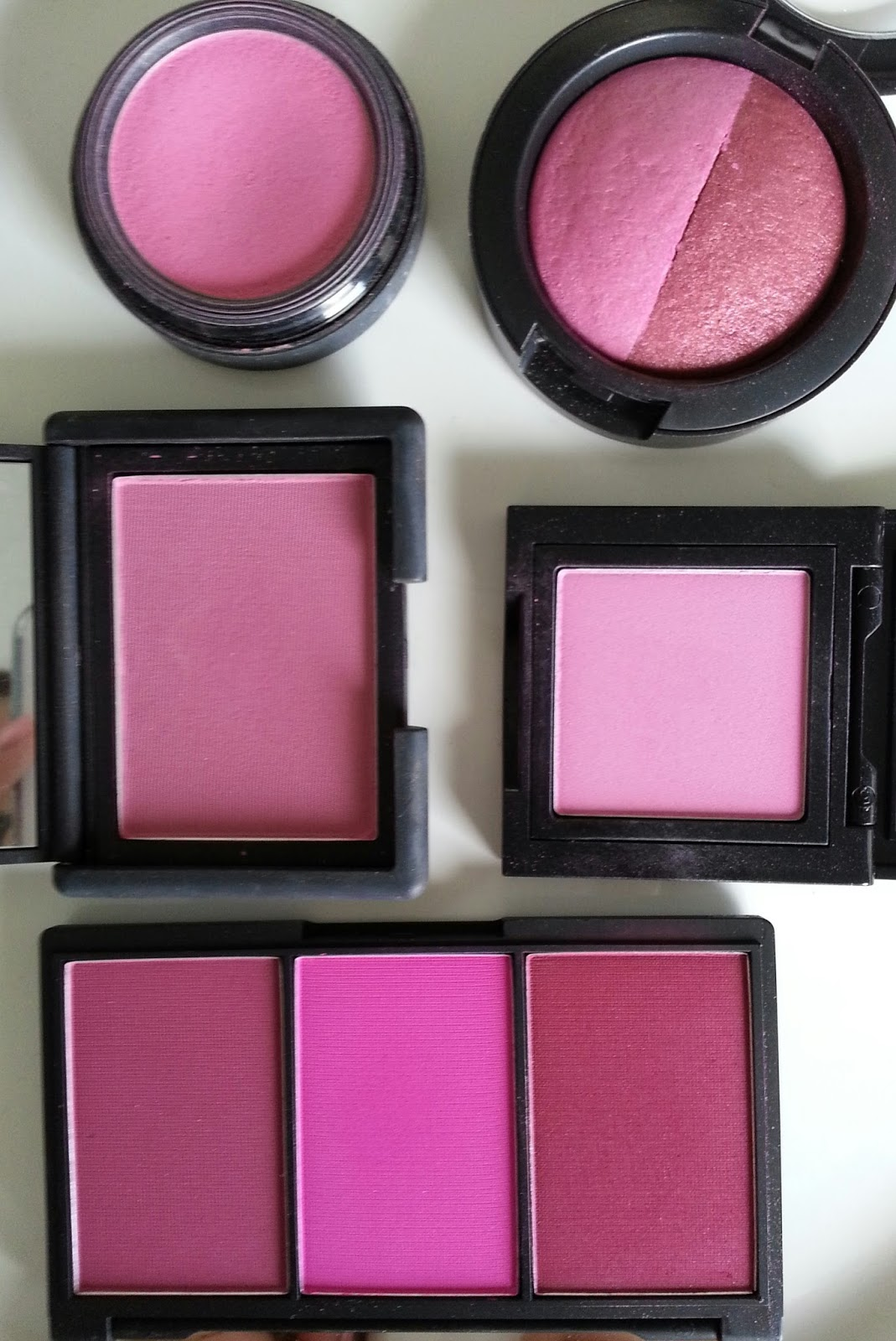 Makeup All Day Long: Blush Collection