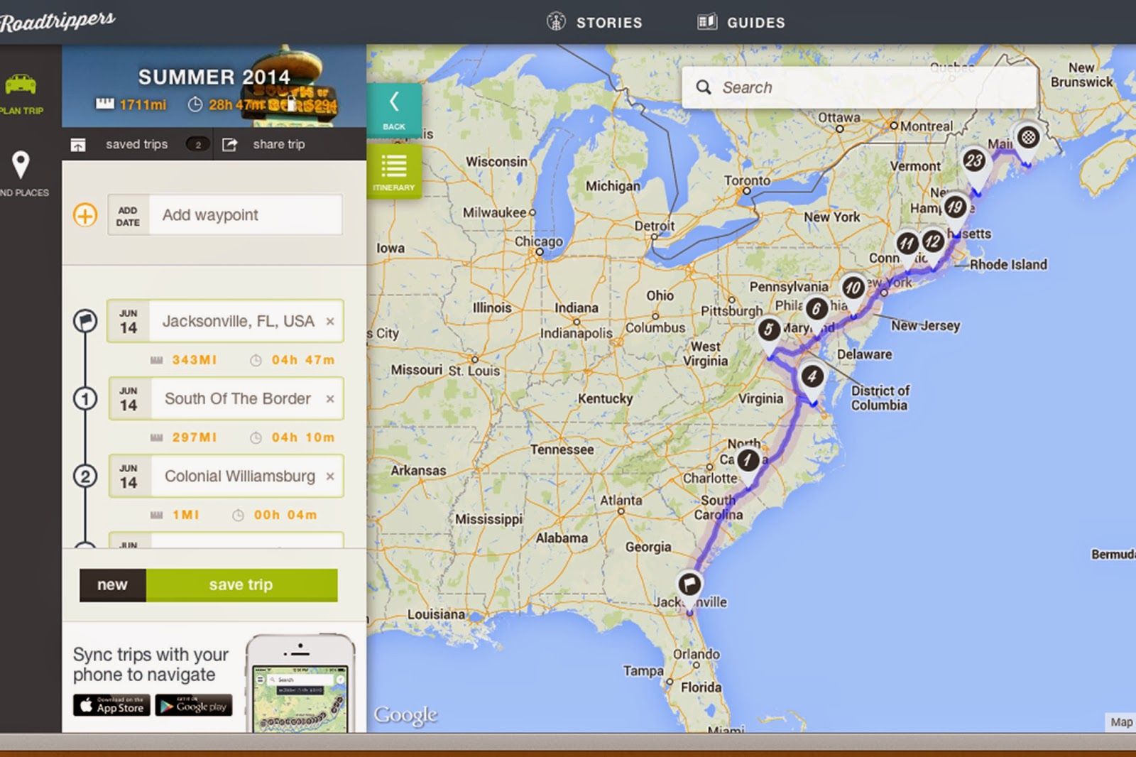 Daydreaming and Sightseeing East Coast Road Trip with the family – East Coast Tourist Attractions Map