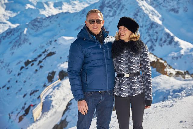 Daniel Craig & Léa Seydoux commence filming SPECTRE in Solden, Austria