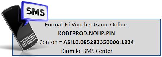 Format Transaksi Voucher game Online - 99 Pulsa