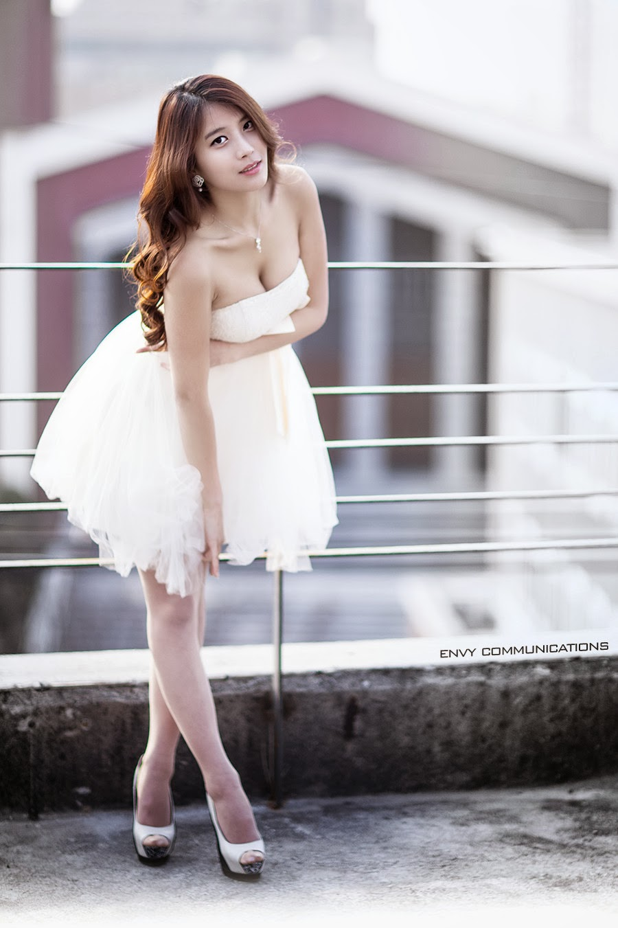 3 Cha Jung Ah - Up On The Roof - very cute asian girl-girlcute4u.blogspot.com