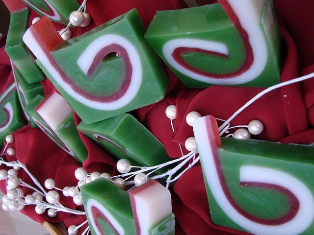 The Soap King Christmas Jelly Roll