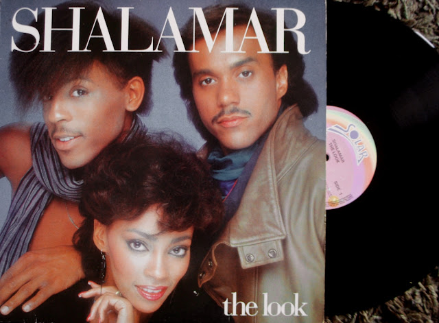 Shalamar - The Look on Solar Records / Warner Bros. 1983