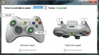 Xinput controller 2 Connected