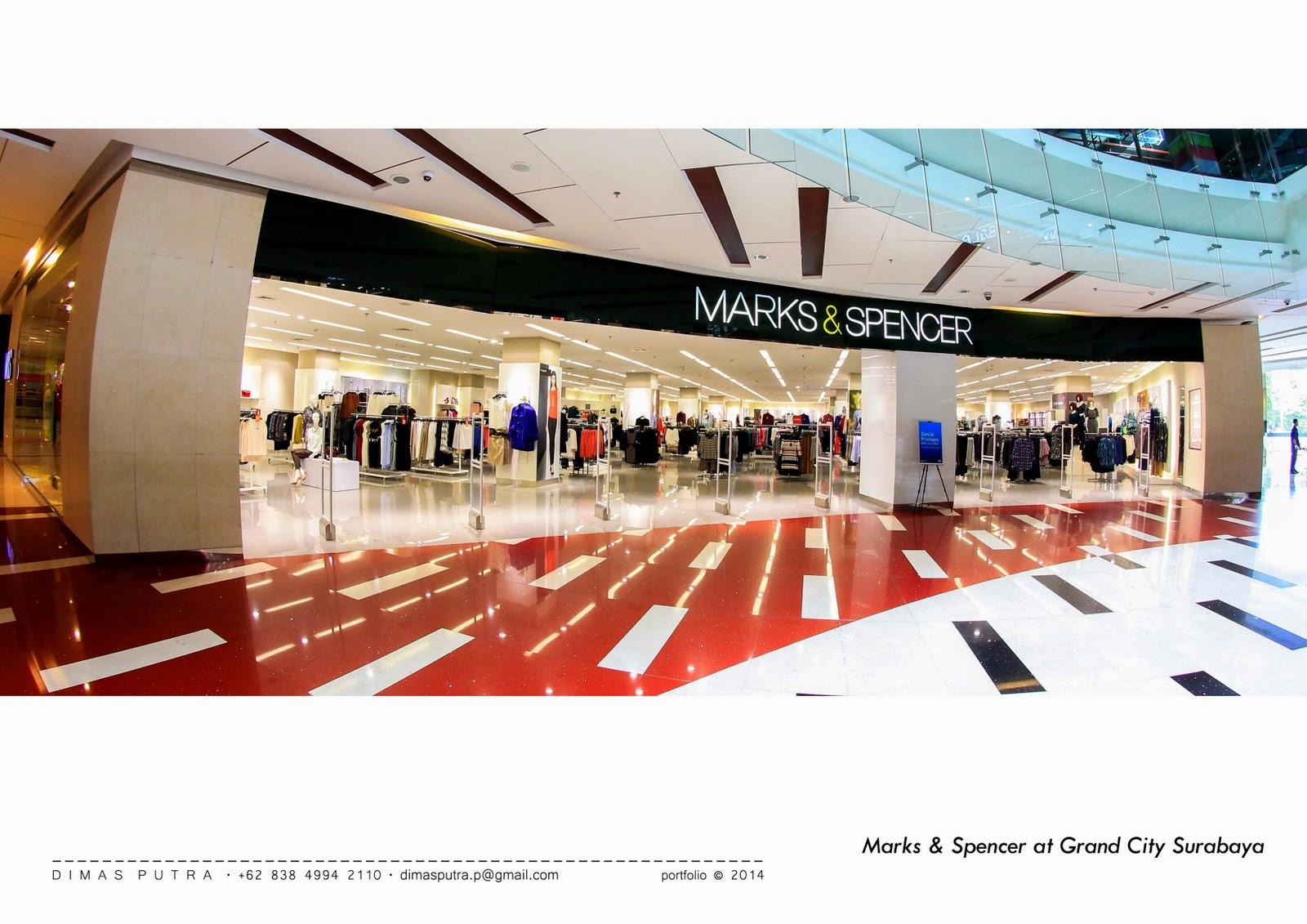 Dimas Putra Marks Spencer Grand City Surabaya