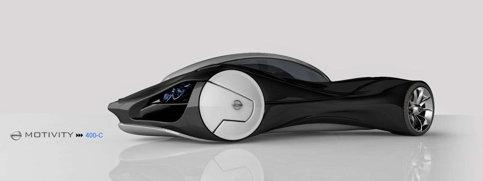 Motivity 400C da Nissan será o carro mais rápido do mundo...