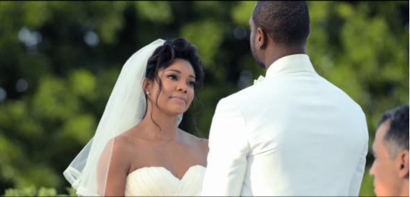 Daily celebrity buzz the wade union gabrielle union and dwyane the wade union gabrielle union and dwyane wades wedding video is everything junglespirit Images