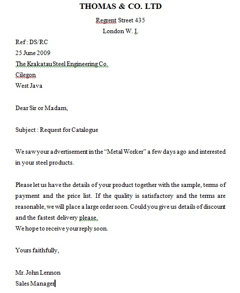 Inquiry letter template inquiry letter thecheapjerseys Images