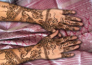 Latest Mehndi Fashion