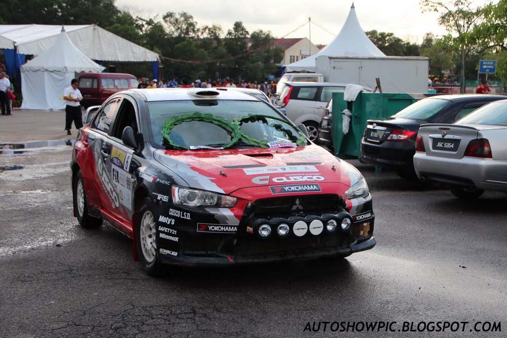 Autoshow Pic Cusco Lancer Evo X Malaysian Rally 2012