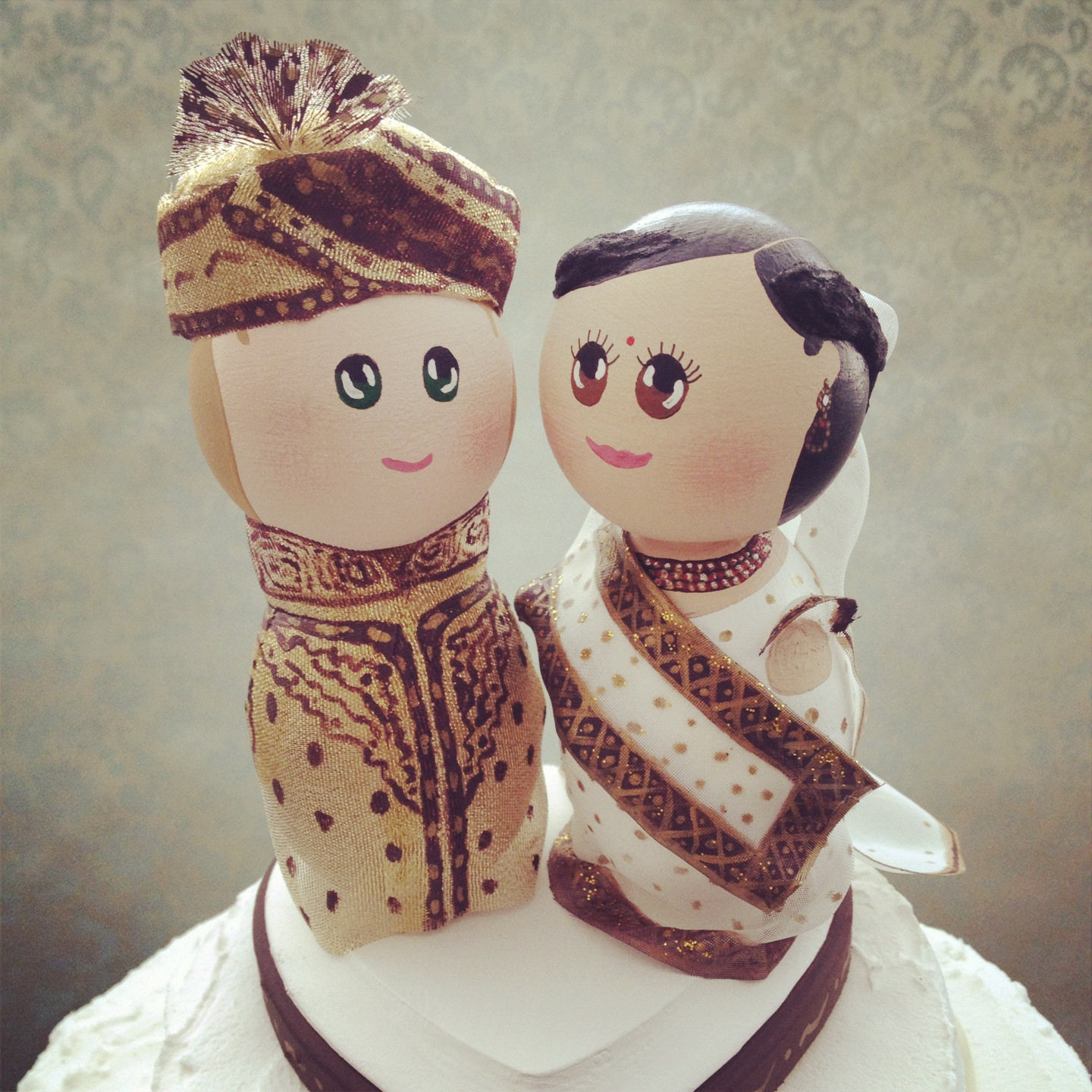 Wedding Gifts For Indian Bride And Groom : DSMeeBee: Custom Indian Bride and Groom