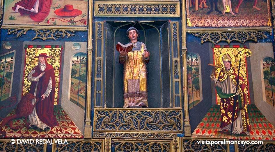 Imagen San Lorenzo Basílica de la Virgen de los Milagros de Agreda